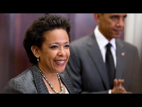 Loretta Lynch Confirmed As The First Black Female Attorney General