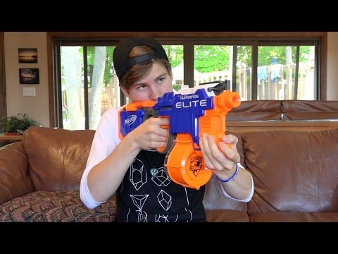 Nerf N-Strike Elite HyperFire Unboxing and Review