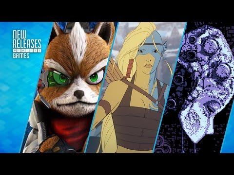 Star Fox Zero, Banner Saga 2, and Axiom Verge for Vita - New Releases
