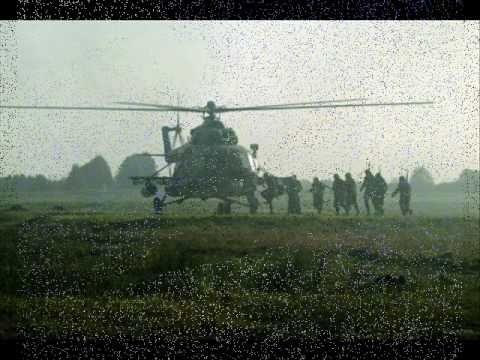 Военные, армейские песни - На Моздок