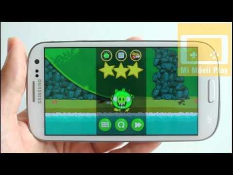 Bad Piggies para Android, primeros niveles