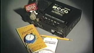 (www.RadioTapes.com) WCCO-AM (830 AM) Real Radio Commercials 1982-1985 - Minneapolis / St. Paul, MN