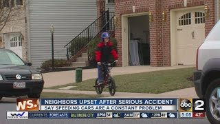 Neighbors upset after serious accident in Fallston