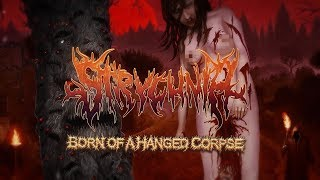 STRYCHNIA - BORN OF A HANGED CORPSE [OFFICIAL LYRIC VIDEO] (2019) SW EXCLUSIVE