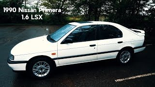 Tweed Jacket Reviews: 1990 Nissan Primera (P10) 1.6 LSX - Lloyd Vehicle Consulting