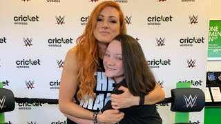 Meeting WWE Superstar The Man Becky Lynch