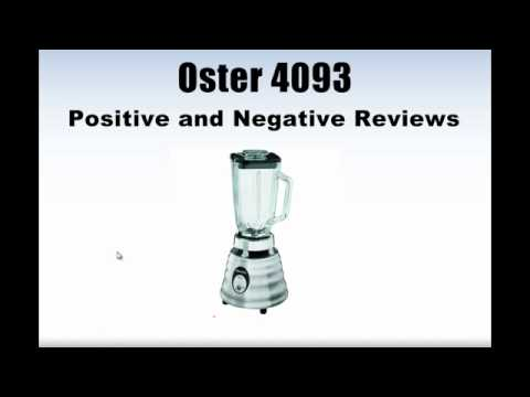 Oster Licuadora Blender Oster 4093 Blender Review