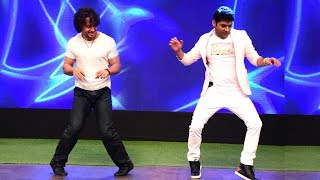 Kapil Sharma's FUNNY Dance With Tiger Shroff