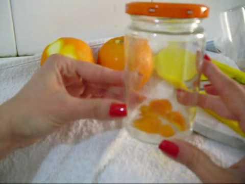 Tutorial TONICO naturale Arance e Limoni FAI DA TE