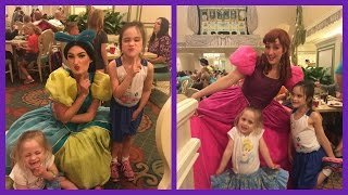 Disney World Holiday Trip - 1900 Park Fare Cinderella Dinner | beingmommywithstyle