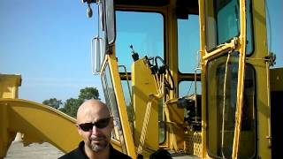 How to inspect construction equipment. Cab.