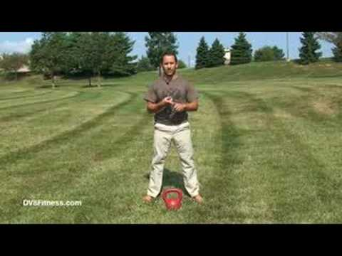 Kettlebell Basics - Two Arm Kettlebell Swing Image 1