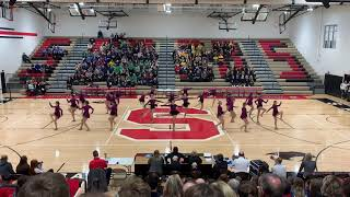 Farmington Dance Team Kick 2019