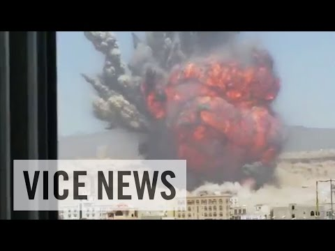 Buildings Leveled by Missile Strikes (Extra Scene from 'Sanaa Under Attack')