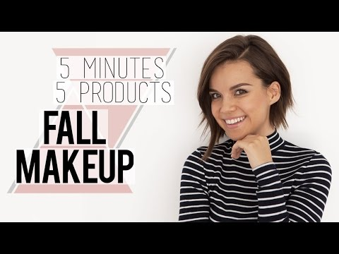 Fall Makeup Tutorial // 5 Minutes! 5 Products!