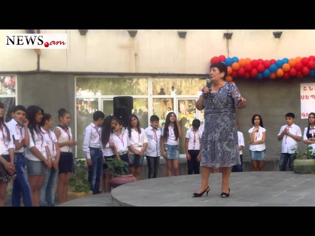 Teacher commends Armenian parliament speaker