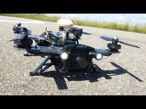 Квадрокоптер 250 размера Walkera Runner 250...распаковка, облет, настройка Failsafe, с Banggood.com