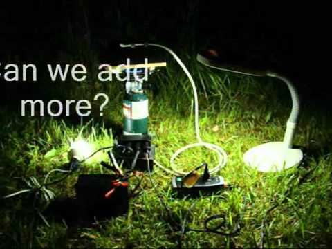 Emergency Thermoelectric Generator (TEG) in Action