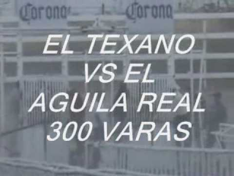 EL TEXANO VS EL AGUILA REAL 300 VARAS EN LAGOS.wmv