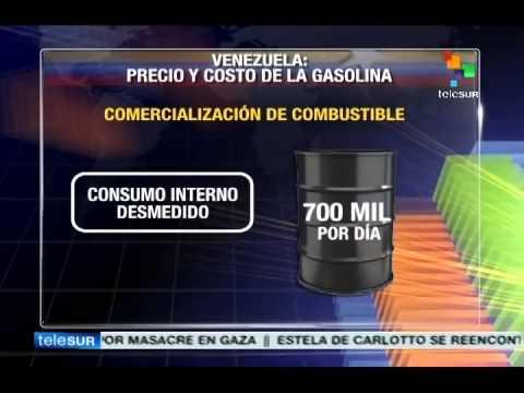 Venezuelan government proposes national debate on gasoline prices