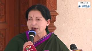 Jayalalitha Speaks After Victory | Parliament Election Results 2014 | Tamil The Hindu