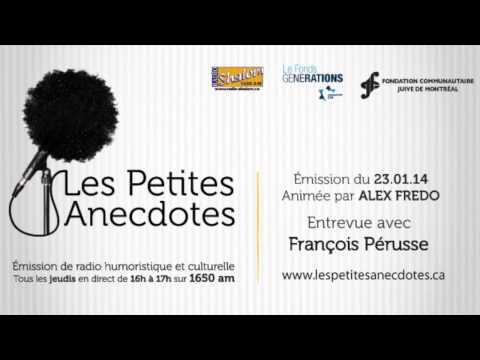 Entrevue avec François Pérusse