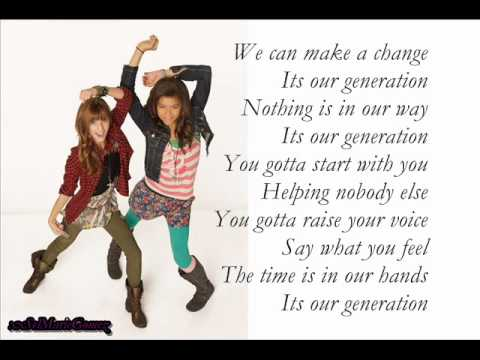 Our Generation | Shake It Up, Hollywood! Wiki | FANDOM ...