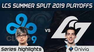 C9 vs CLG Highlights All Games LCS Summer 2019 Playoffs Cloud9 vs Counter Logic Gaming LCS Highlight