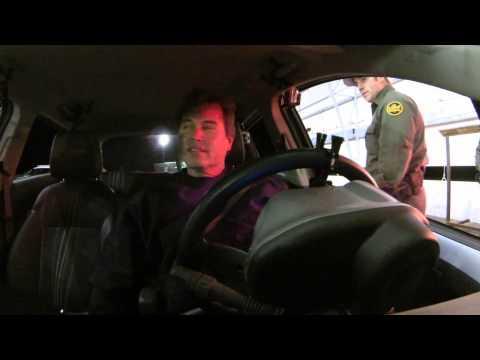 U.S. Border Patrol Checkpoint - Ajo, Arizona Post Super Bowl Grab and Pass Play, 2 February 2014