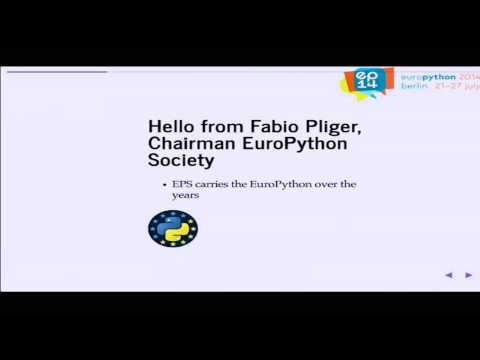 Image from Welcome to EuroPython 2014: Where the European Python Community Meets
