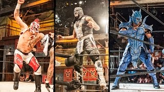 Lucha Underground 11/12/14: MAIN EVENT - Fenix vs. Pentagon Jr. vs. Drago