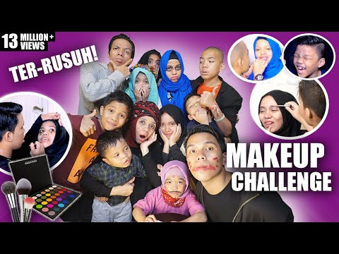 Download Lagu MAKEUP CHALLENGE TER RUSUH | Gen Halilintar MP3 Free