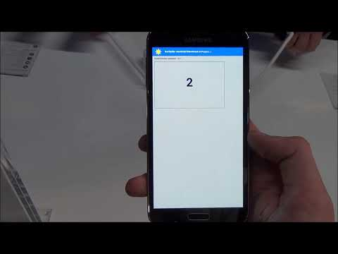 Samsung Galaxy S5 SunSpider Benchmark