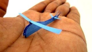 How To Make a Helicopter - paper helicopter that flies - Worlds smallest Helicopter R22