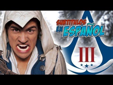 ULTIMATE ASSASSIN'S CREED 3 SONG [Music Video] (Subtitulado en Español)
