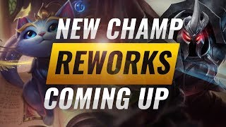 NEW CHAMP YUUMI + REWORKS Announced by Riot