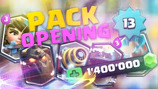 Clash Royale PACK OPENING de 1