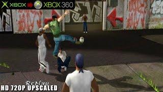 Urban Freestyle Soccer / Freestyle Street Soccer - Gameplay Xbox HD 720P (Xbox to Xbox 360)