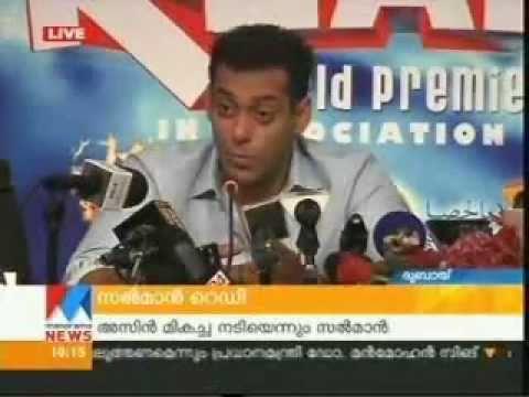Salman Khan shares his wish to act with Megastar Mammootty
