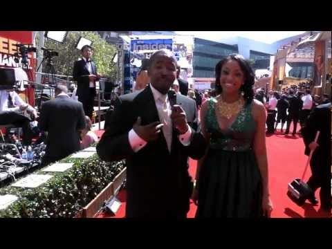 BlackTree TV on the Red Carpet of the 63rd Annual Emmy's