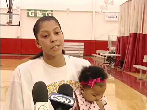 Candace Parker at Bulls/Sox Training Academy Video