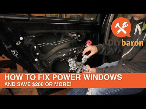 How to Fix Power Windows and Save $200 or More
