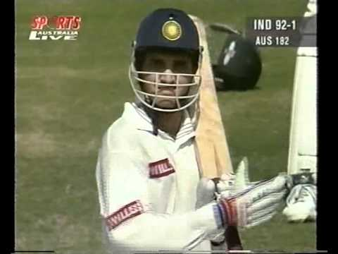 SOURAV GANGULY vs GLENN McGRATH - 1996 DELHI..............