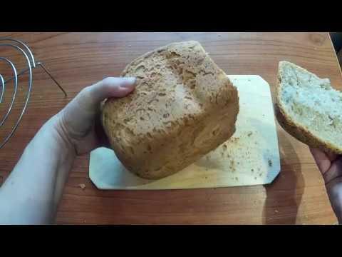 Ароматный хлеб на закваске Левито Мадре в хлебопечке