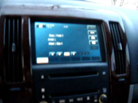 Cadillac STS gets a OEM Navi  YouTube