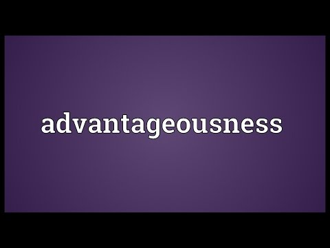 Header of advantageousness
