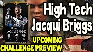 High Tech Jacqui Briggs Challenge. Who you need for last towers and BOSS BATTLE. SPOILER MKX Mobile