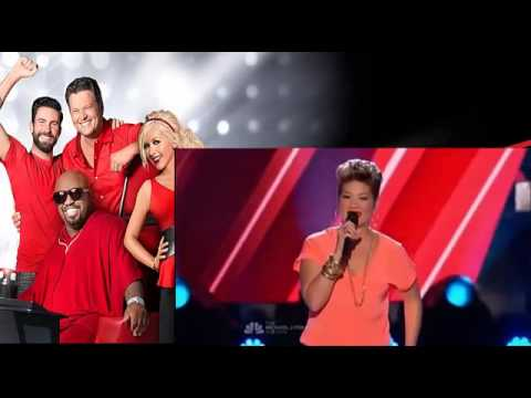 Tessanne Chin   TRY   The Voice USA 2013 Auditions [Jamaica Girl]