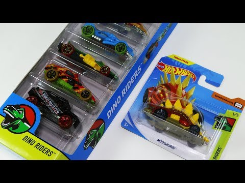 Dino Riders Hot Wheels Dinosaur Car Toys