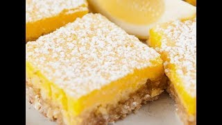 Easy to Make Lemon Cookie Bars